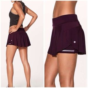 Lululemon quick pace skirt